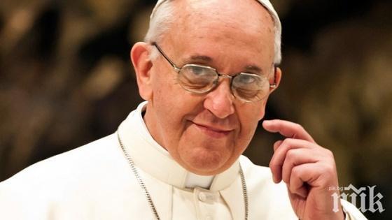 Папата призова към сдържаност след атаките срещу танкери