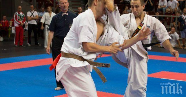 Девет състезатели ще представят България на Световно първенство по карате
