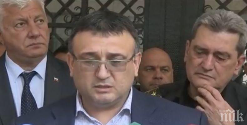 Младен Маринов: Има опити за настройване на обществеността срещу действията на полицията и прокуратурата