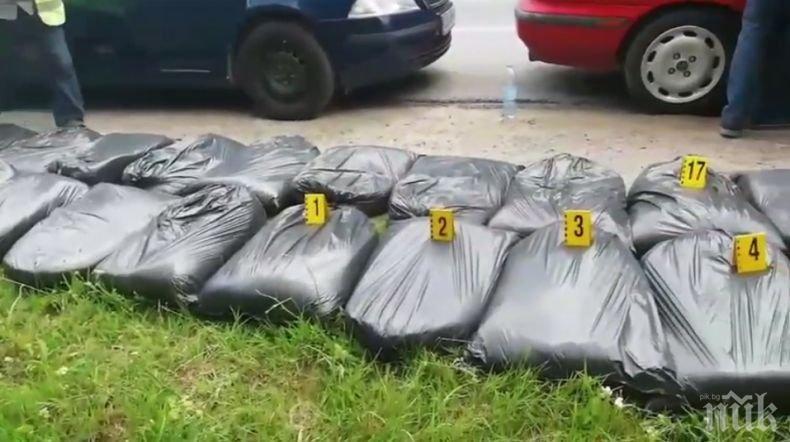 ПЪРВО В ПИК: Арестуваха полицай за производство и разпространение на тютюн за пушене (ВИДЕО)