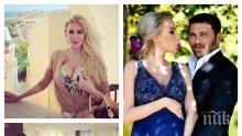 ГОДИНА ПО-КЪСНО: Антония Петрова разкри нови подробности за трите си сватби - ето кой узаконил брака й в Солун... (СНИМКИ)