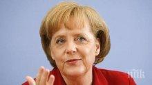 """Меркел: """"Северен Поток-2""""  и запазването на транзита през Украйна са свързани"""