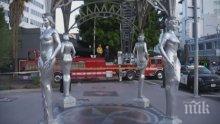 Откраднаха статуя на Мерилин Монро в Холивуд