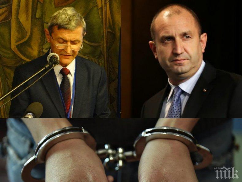 БОМБА В ПИК: Най-важният съветник на Румен Радев арестуван за купуване на гласове!
