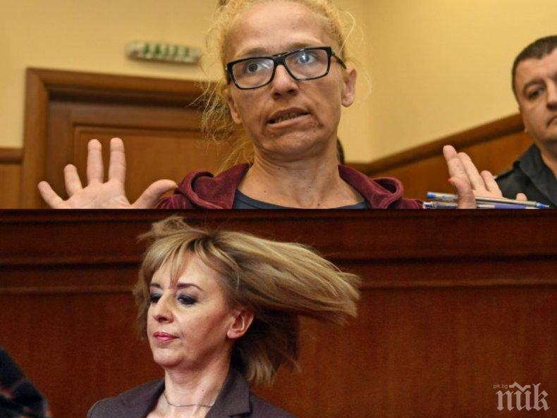 СКАНДАЛ В ПИК: Десислава Иванчева се юрна да рекламира Мая Манолова - опозорените блондинки в тандем за кметските избори (СНИМКИ)