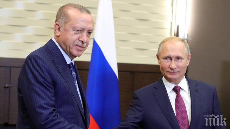 Ердоган: Руските ракети С-400 ще бъдат в Турция много скоро