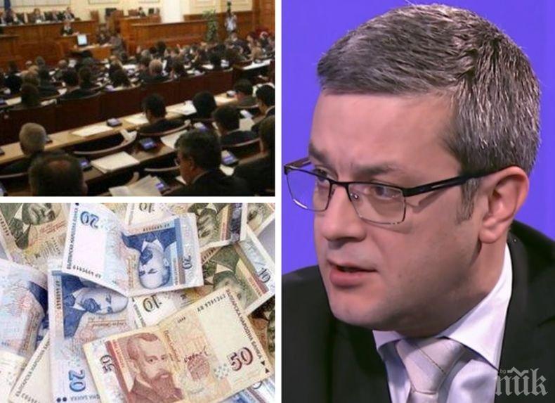 САМО В ПИК: Тома Биков с горещ коментар пред медията ни за партийните субсидии и предстоящия коалиционен съвет
