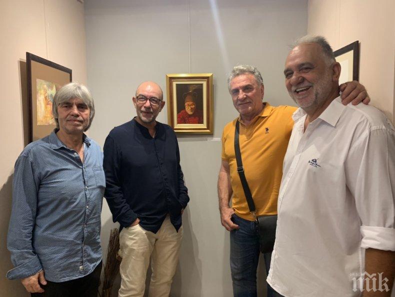 """Изложбата """"5x5"""" събира петима съвременни български художници в галерията на Сидеров"""