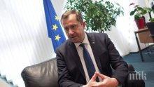 Огнян Златев поема ръководството на представителството на ЕК в Хърватия