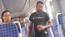 Наглите цигани гратисчии от влака Пловдив - София влязоха в съда, грози ги затвор