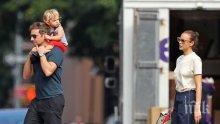 НАПРЕГНАТ РАЗВОД: Брадли Купър и Ирина Шейк в битка за дъщеря им