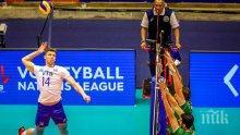 Волейболните национали с осма загуба в Лигата на нациите