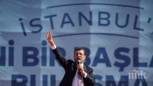Новият кмет на Истанбул подава ръка на Ердоган