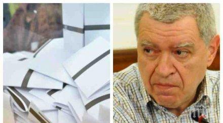 АРИТМЕТИКА! Проф. Михаил Константинов с гореща прогноза за местните избори - ето колко ще отидат до урните през есента