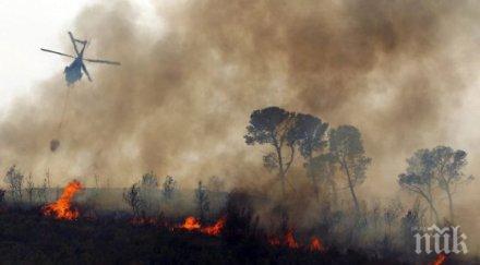 СЛЕД ТРАГЕДИЯТА ПРЕДИ ГОДИНА: ВВС отново има хеликоптер за гасене