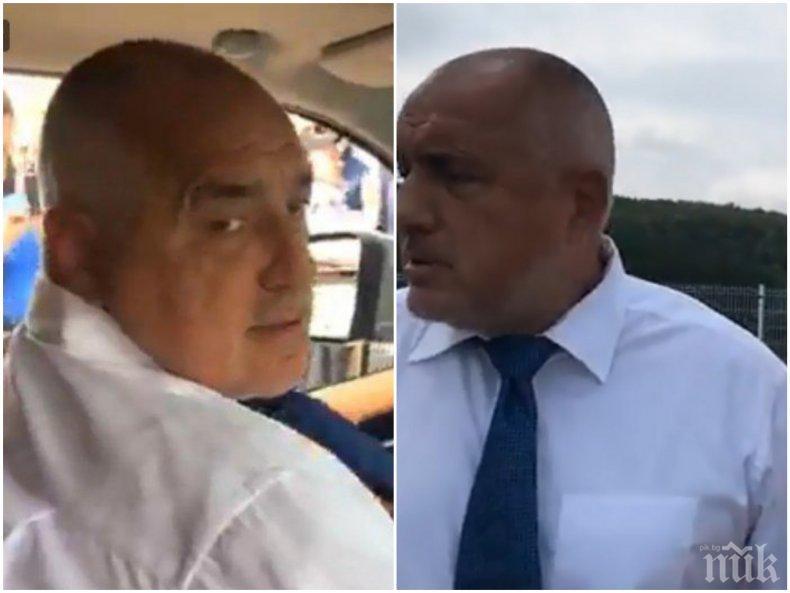 ПЪРВО В ПИК TV: Премиерът Борисов пак подкара джипа (ОБНОВЕНА/СНИМКИ)