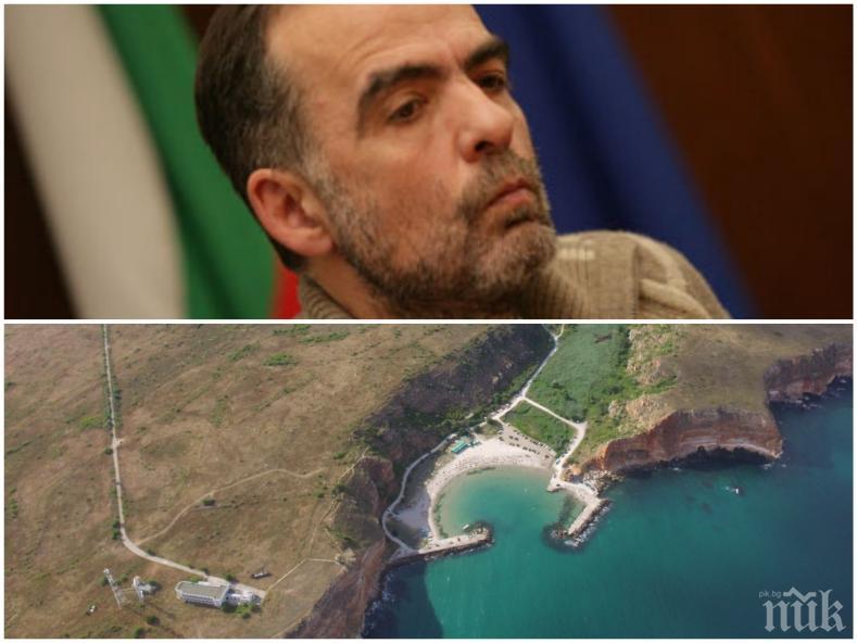СКАНДАЛ: Тома Белев в схема за бетониране на морския бряг