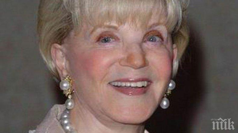 Почина американската писателка Джудит Кранц