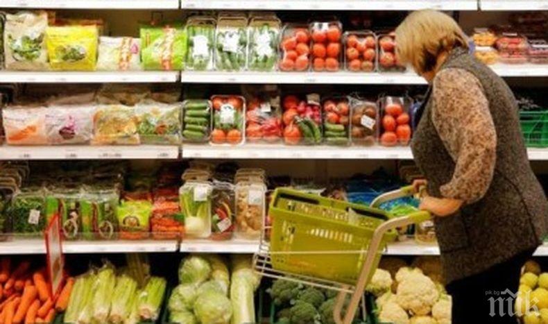 Евростат: Българите имат сравнително най-ниски потребителски цени в ЕС