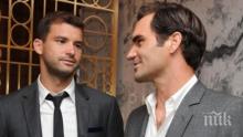 Чилич с любопитно мнение за Григор и Федерер