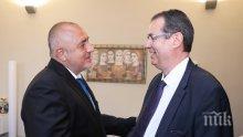 ПЪРВО В ПИК: Премиерът Борисов се срещна с генералния директор на ОЛАФ Виле Итала