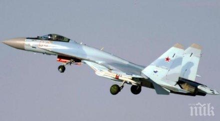 СДЕЛКА: Русия предлага на Китай още от най-новите изтребители Су-35