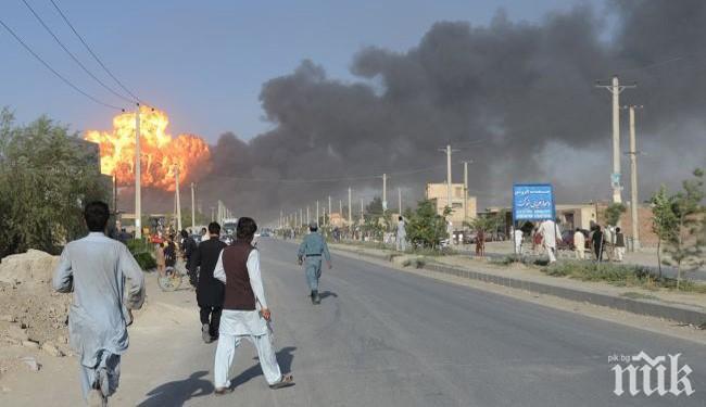Мощна експлозия разтърси дипломатическия квартал на Кабул. Има десетки жертви (ВИДЕО)