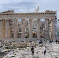 акропола атина пуска кепенци заради жегите