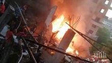 12 пострадали при взрив на бензиностанция в Ливан