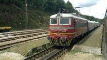 Товарен влак аварира, спря движението Кресна-Благоевград