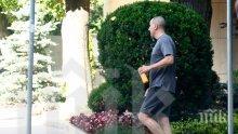 ФОТОУДАР В ПИК! ЦВЕТАНОВ БЯГА, жена му се глези в мола и сменя беемвета и мини купъри (ПАПАРАШКИ СНИМКИ)