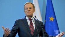 Туск с нова идея за висшите постове в ЕС - предлага ротиране на ЕНП и ПЕС