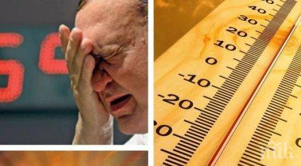 ЖЕГИТЕ НАСТЪПВАТ: Термометрите скачат до 34 градуса, ето къде ще е най-топло (КАРТА)