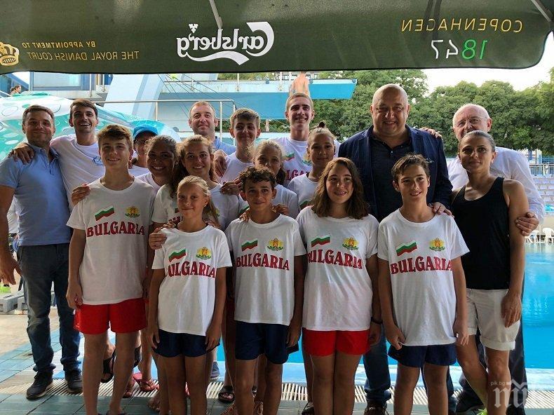 Министър Кралев откри Балканските игри по скокове във вода за юноши и девойки във Варна