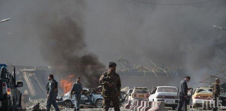 Над 100 души са ранените при експлозия в Кабул
