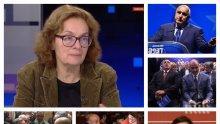 САМО В ПИК TV: Политологът Румяна Коларова с убийствена дисекция на форумите на ГЕРБ и БСП и поведението на Бойко Борисов и Корнелия Нинова след евровота (ОБНОВЕНА)