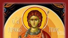 СИЛНА ВЯРА: Свети Прокопий от езичник станал християнин и понесъл страшни мъчения