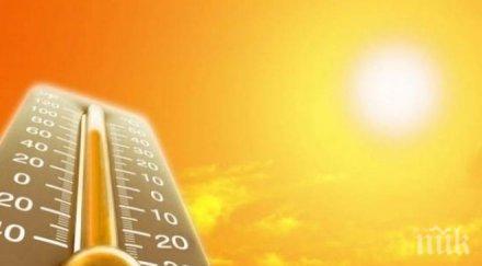 небето опасни жеги морят температурите подминат градуса карта