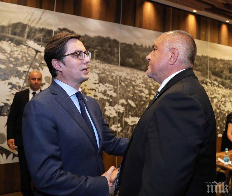 ПЪРВО В ПИК TV! Борисов с остър коментар: България и Северна Македония вървим напред! Сърбите ги теглим към ЕС, а те не искат (ОБНОВЕНА/СНИМКИ)