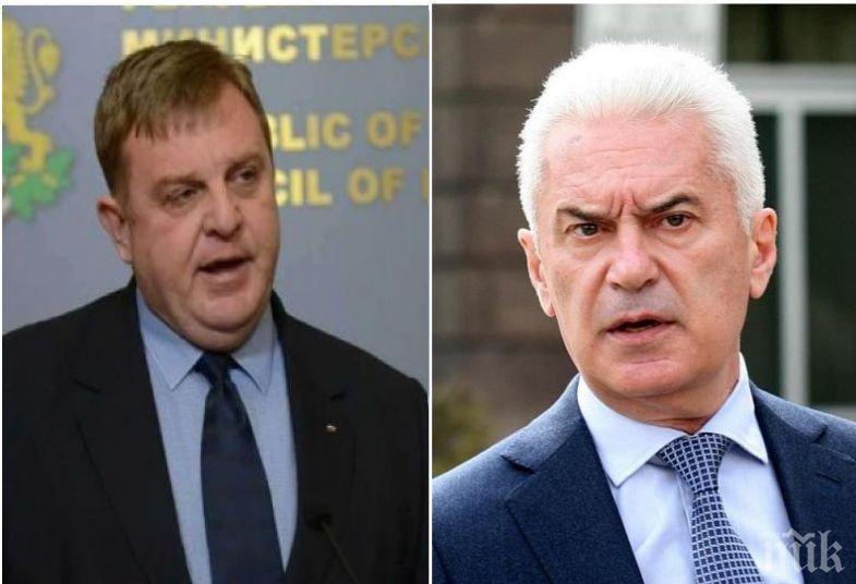 ПЪРВО В ПИК TV: Каракачанов избяга от въпросите за смяната на Волен Сидеров (ОБНОВЕНА)