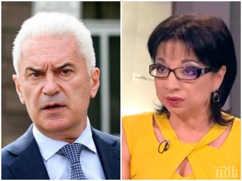 ИЗВЪНРЕДНО В ПИК: Волен Сидеров изригна срещу Би Ти Ви: За пореден път ме цензузират! Чия е телевизията и чии нареждания изпълнява?