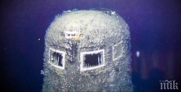 ЛЪЧЕНИЕ: Радиация 100 000 пъти над нормата в близост до потънала съветска подводница (ВИДЕО)