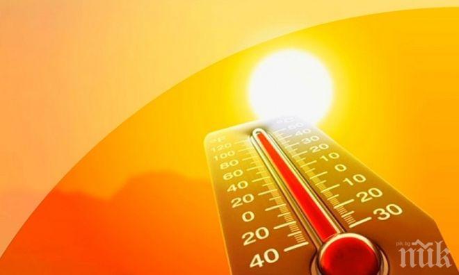 ЖЪЛТ КОД: Опасни жеги утре почти в цялата страната. Ето къде ще е най-горещо (КАРТА)
