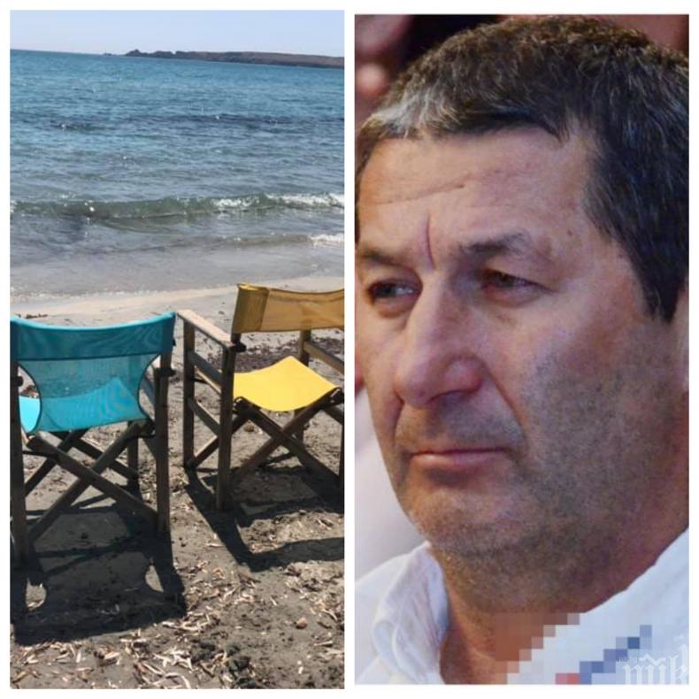 САМО В ПИК: Владо Каролев актуално за гръцките плажове и цените - вижте как е на остров Лимнос от първа ръка (СНИМКИ/МЕНЮ)