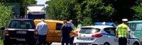 Тежка катастрофа на Околовръстното на Пловдив - два буса се удариха челно