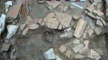 АРХЕОЛОЗИ: ЕВН изрови римско жилище в центъра на Пловдив