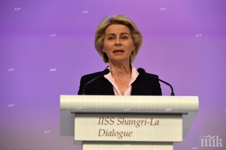 Меркел призна - вече има проблеми заради Урсула фон дер Лайен