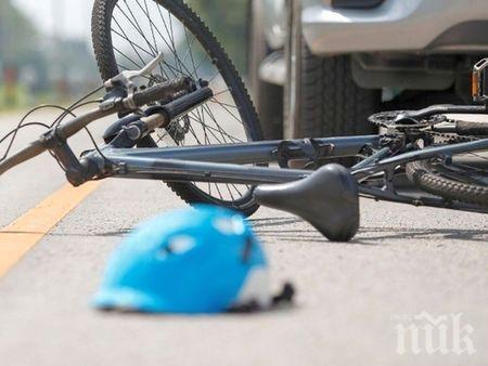 Жена получи амнезия, след като се заби с колелото си в ТИР