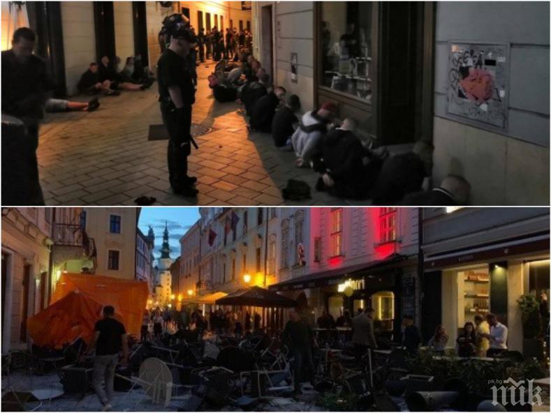 ПЪРВИ ПОДРОБНОСТИ: Мелето в Братислава станало заради полските фенове - привържениците на Левски били два пъти по-малко (ВИДЕО)