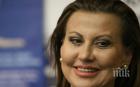 УЖАС: Илиана Раева преживя свирепа буря в самолета за Москва